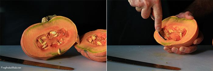 pumpkin puree steps - 2