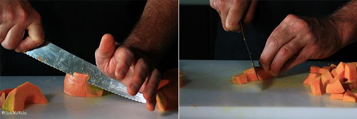 pumpkin puree steps - 3