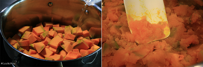 pumpkin puree steps - 4