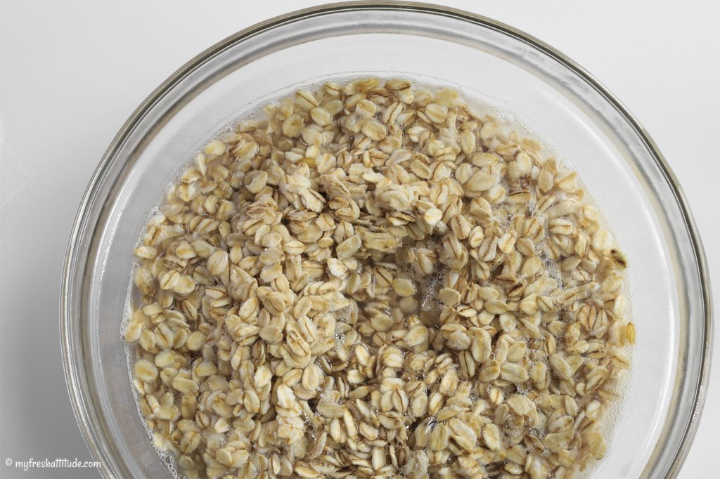 soaking oat cream